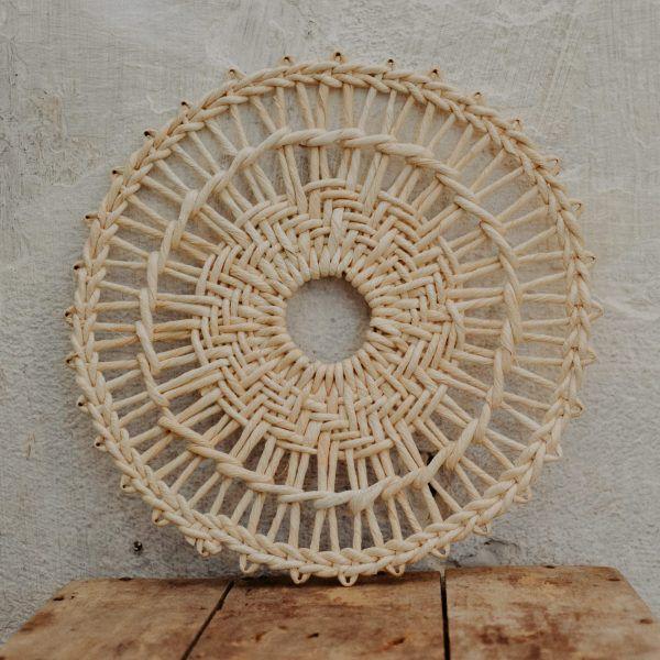 Untersetzer aus Maisblättern